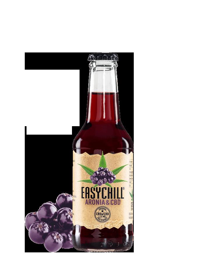 EasyChill CBD Drink mit Aronia Limonade