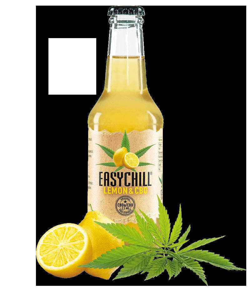 EasyChill CBD Drink mit Lemon Flasche