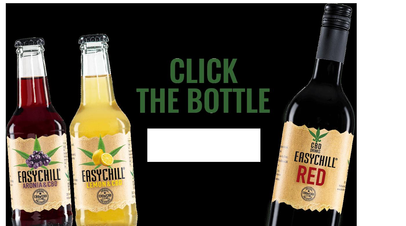 EasyChill CBD Drink & Limonade mit Lemon oder Aronia
