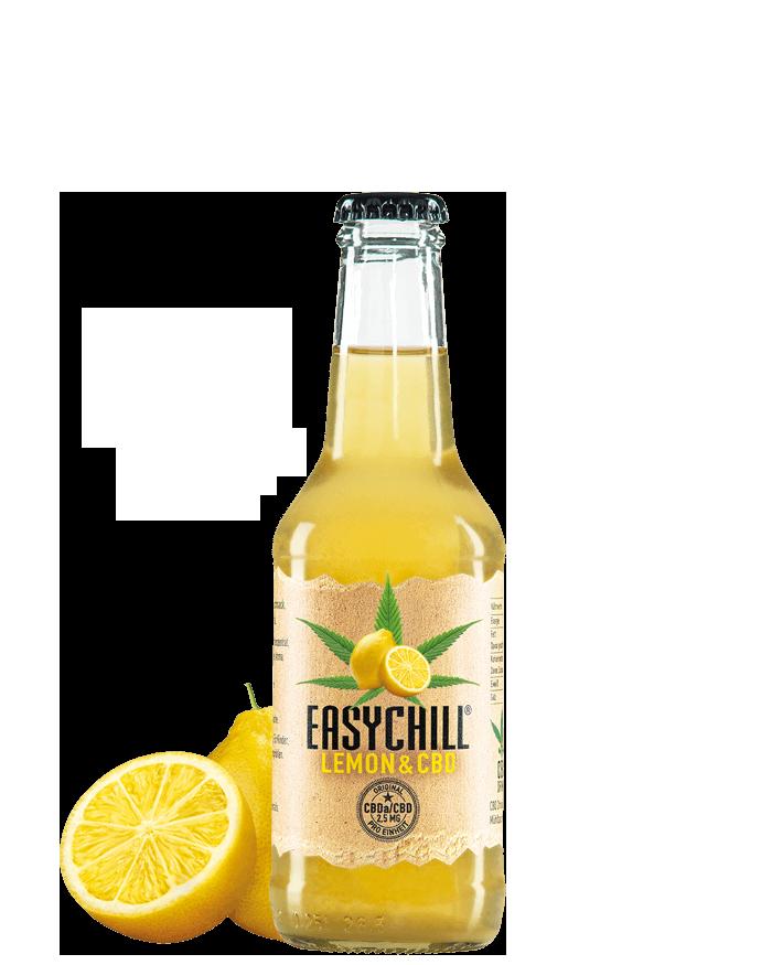 EasyChill CBD Drink mit Lemon Limonade